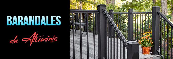 Los mejores barandales de aluminio para tu hogar