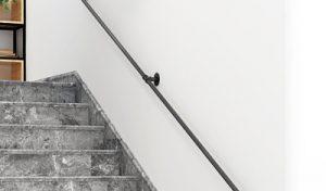 Pasamanos para escaleras en aluminio