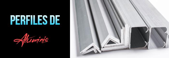 Ir a la sección de perfiles de aluminio
