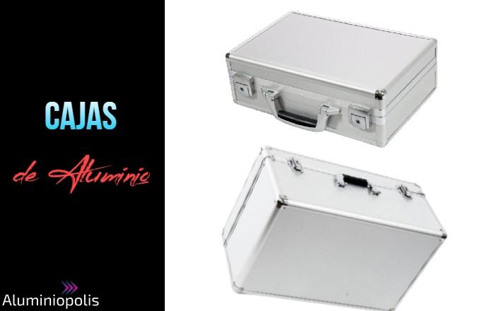Dos cajas de aluminio para electronica