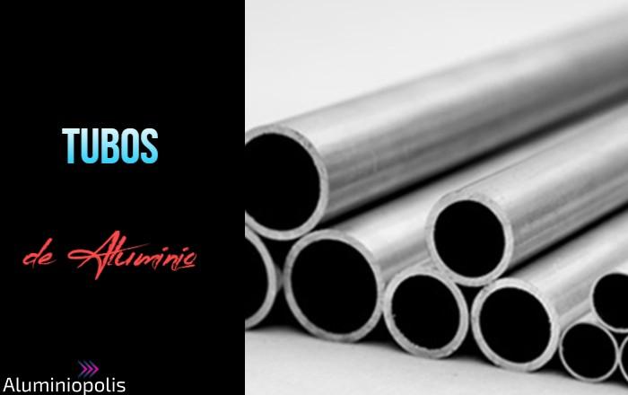 Tubo de aluminio para estructuras