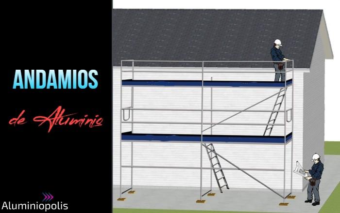 andamios de aluminio para trabajos en altura