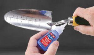 Pegamento especial para reparar aluminio
