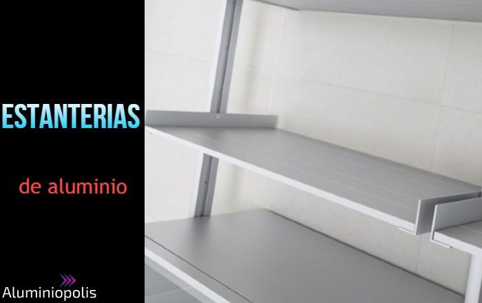 Estanterias de aluminio para trasteros y negocios