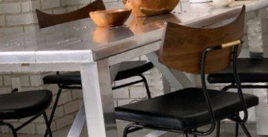 conjunto de muebles de aluminio para exterior