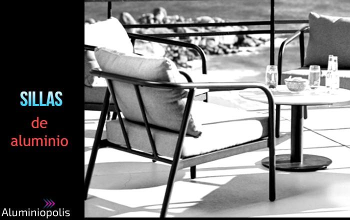 sillas de aluminio para exterior