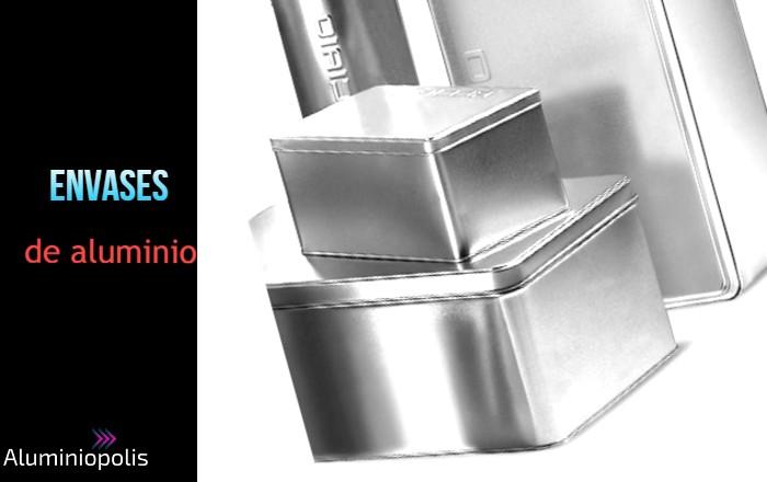 envases de aluminio con tapa