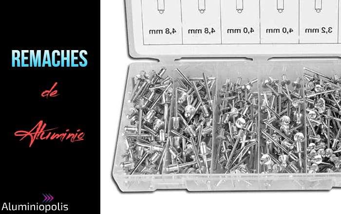 medidas de remaches de aluminio