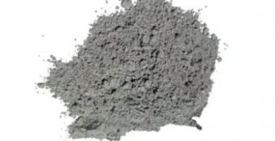 Polvo de aluminio que sirve para cromar