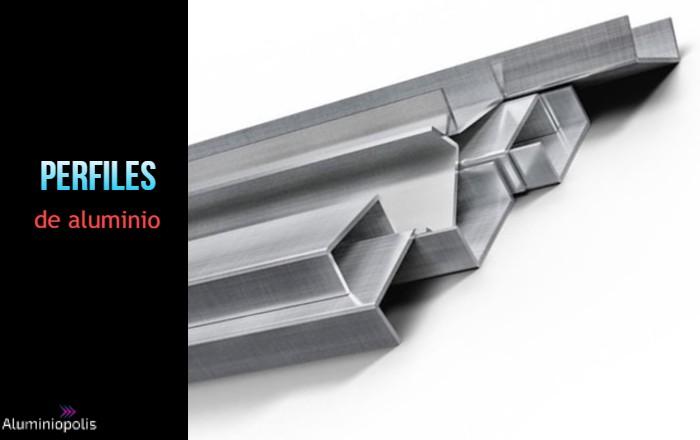 varios perfiles de aluminio