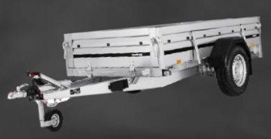 Un remolque de aluminio para coche