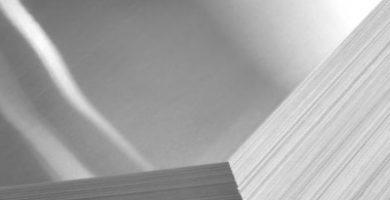 Chapa de aluminio lisa medidas