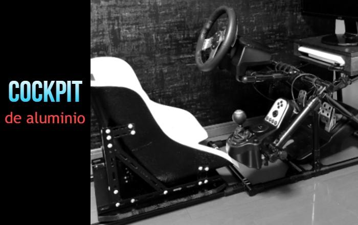 Cockpit de aluminio plegable