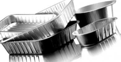 los moldes de aluminio se pueden meter al horno