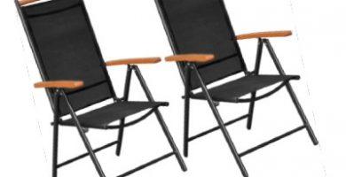 silla plegable aluminio carrefour
