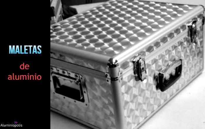 una maleta de aluminio para herramientas