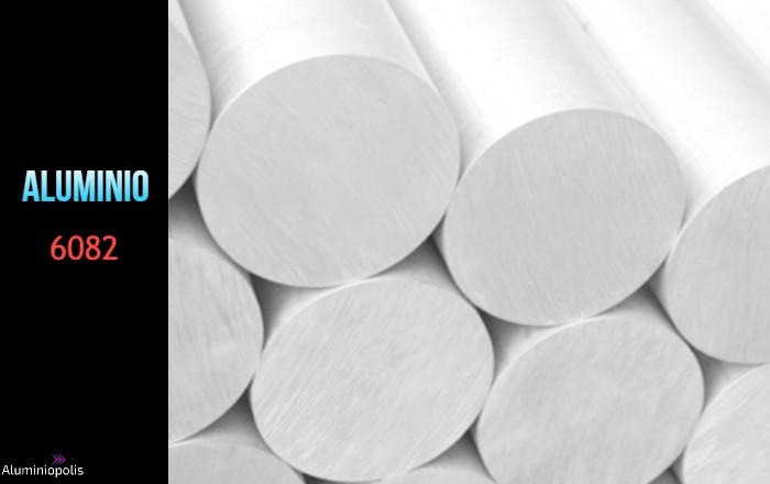 varias barras de Aluminio 6082