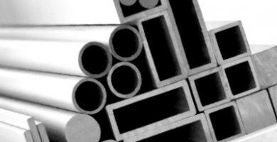 varias clases de perfiles de aluminio