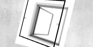Instalación y colocación de un perfil de aluminio para mosquitera