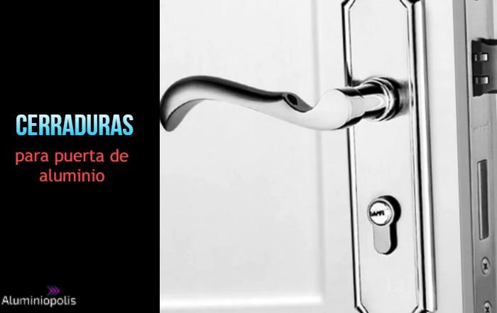 cerradura para puerta de aluminio exterior