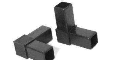 conector tubo cuadrado 20x20 40x40 20x20