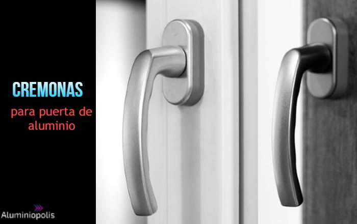 cremonas para puertas de aluminio