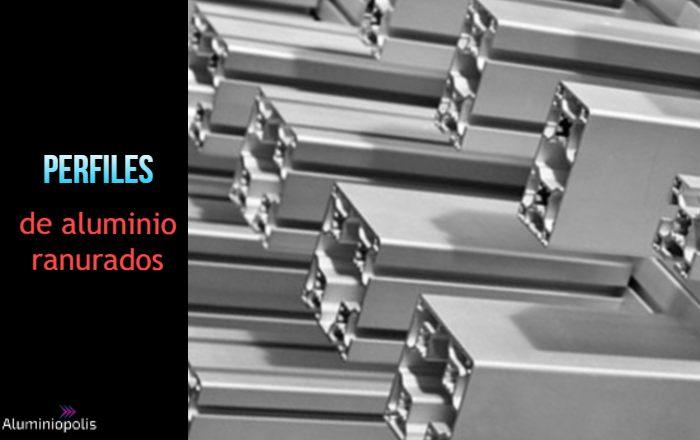 perfiles de aluminio ranurados 20x20