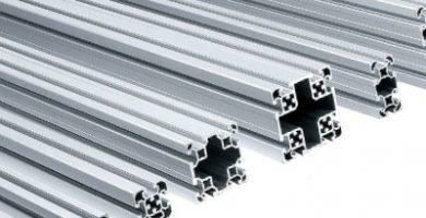 perfiles de aluminio ranurados moas