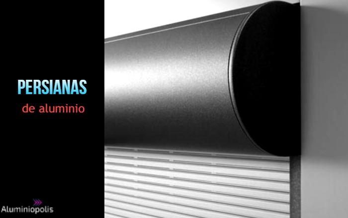 persiana de aluminio enrollable de interior