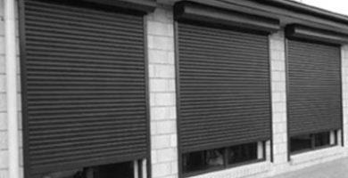 persiana de aluminio enrollables de exterior