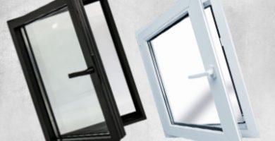 ventana de aluminio de medidas 120 x 120 cm